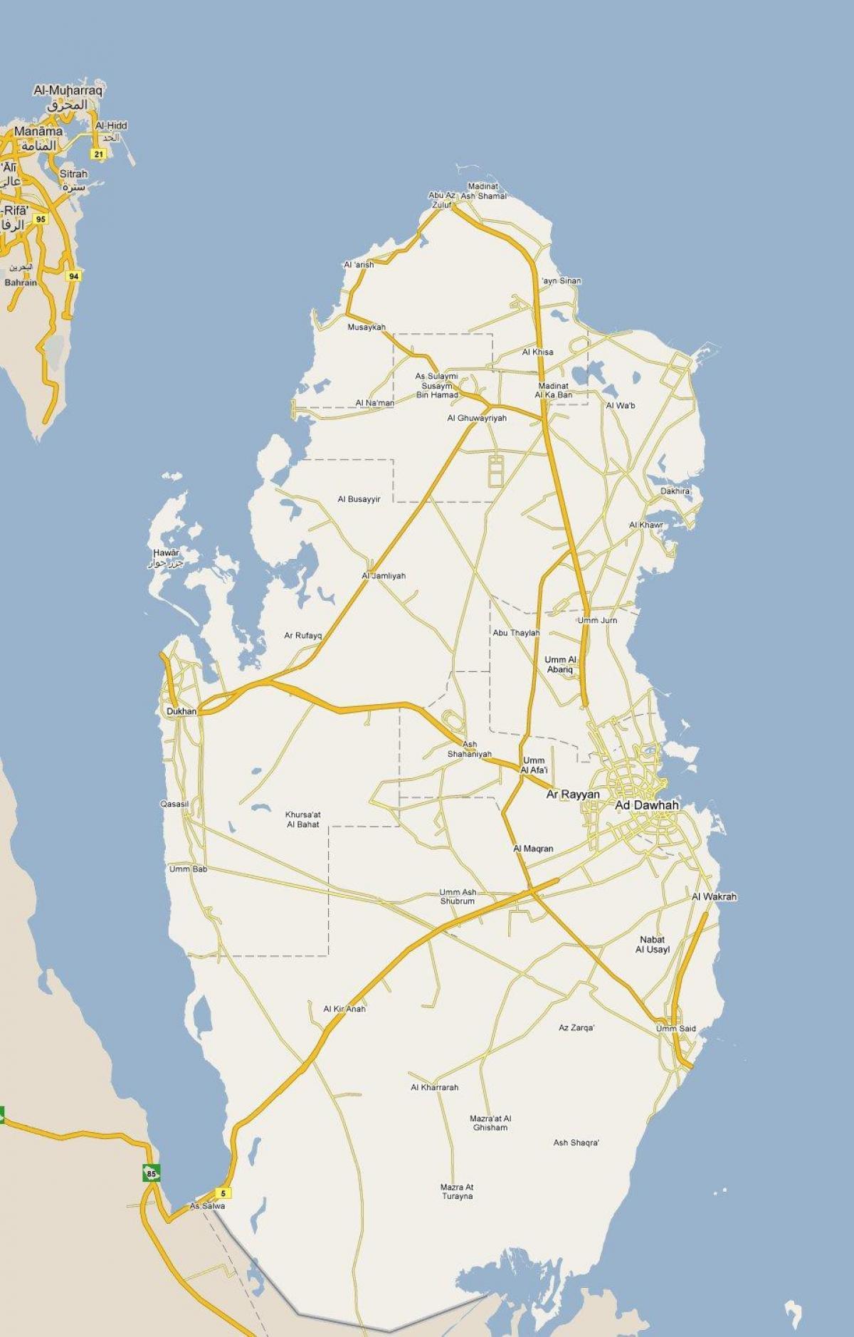 katar térkép Térkép katar   Térkép mutatja, katar (Nyugat Ázsia   Asia) katar térkép
